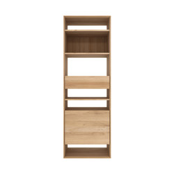 Oak Nordic bookcase | Shelving systems | Ethnicraft