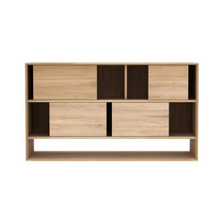 Oak Nordic low rack | Librerías | Ethnicraft
