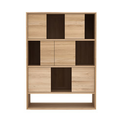 Oak Nordic low rack | Shelving systems | Ethnicraft