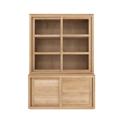 Oak Pure cupboard top | Vetrine / Vetrinette | Ethnicraft