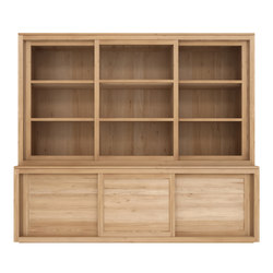 Oak Pure cupboard top | Display cabinets | Ethnicraft