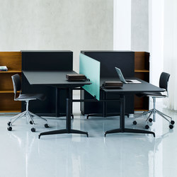 Genese Work station | Systèmes de tables de bureau | Holmris Office