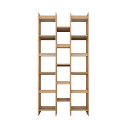 Oak Mozaic rack | Shelving systems | Ethnicraft