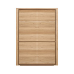 Oak Shadow storage cupboard | Armoires | Ethnicraft