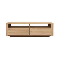 Oak Shadow TV cupboard | Multimedia Sideboards | Ethnicraft