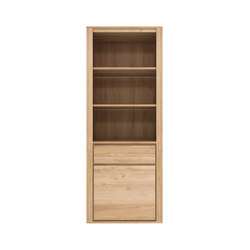 Oak Shadow bookcase | Shelving systems | Ethnicraft