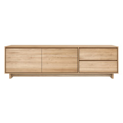 Oak Wave TV cupboard | Multimedia Sideboards | Ethnicraft