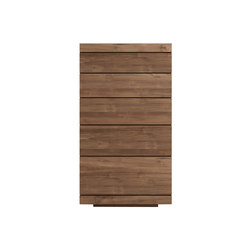 Teak Burger chest of drawers | Aparadores | Ethnicraft