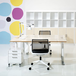 X12 Desk | Systèmes de tables de bureau | Holmris Office