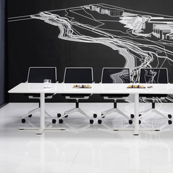 X12 Conference table | Tables de conférence | Holmris Office