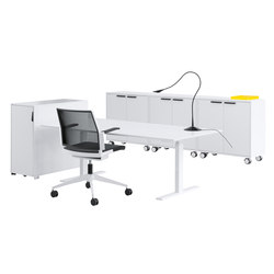 Q20 Desk | Individual desks | Holmris Office