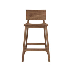 Teak N3 kitchen counter stool | Sgabelli bar | Ethnicraft