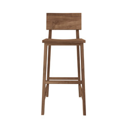Teak N4 high chair | Taburetes de bar | Ethnicraft