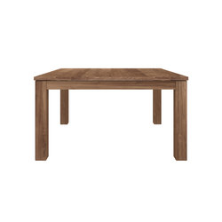 Teak Stretch extendable dining table | Restaurant tables | Ethnicraft
