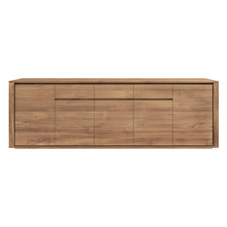 Teak Elemental sideboard | Sideboards | Ethnicraft