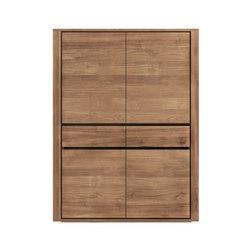 Teak Elemental storage cupboard | Cabinets | Ethnicraft