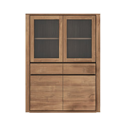 Teak Elemental storage cupboard | Vitrinas | Ethnicraft