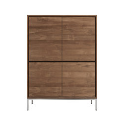 Teak Essential storage cupboard | Armoires | Ethnicraft