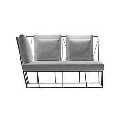 Hervé two-seater element | Sofas de jardin | Driade