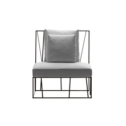 Hervé single seat | Garden armchairs | Driade
