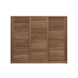 Teak Knockdown dresser | Cupboards | Ethnicraft