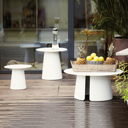 Feel side table | Tavoli bassi da giardino | jankurtz