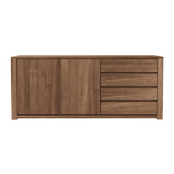 Teak Lodge sideboard | Sideboards | Ethnicraft