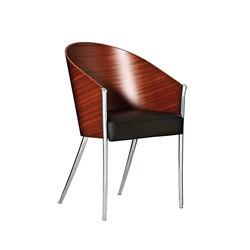 King Costes easychair mogano | Visitors chairs / Side chairs | Driade