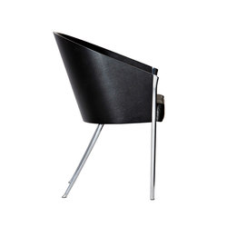 King Costes easychair mogano ebanizzato | Visitors chairs / Side chairs | Driade
