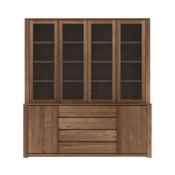 Teak Lodge cupboard | Display cabinets | Ethnicraft