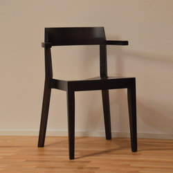 Hawelka Armlehnstuhl | Restaurantstühle | jankurtz