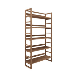 Teak Skelet rack | Shelving systems | Ethnicraft