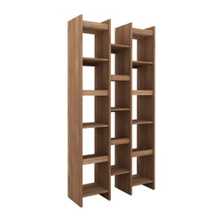 Teak Mozaic rack | Shelving systems | Ethnicraft