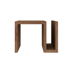 Teak Naomi Sidetable | Magazine holders / racks | Ethnicraft