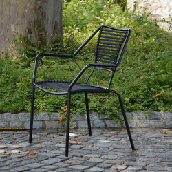 Knit-Knot stackable armchair | Garden chairs | jankurtz