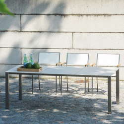 Lux Base table | Mesas comedor | jankurtz