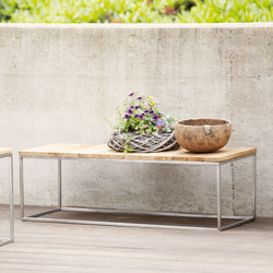Lux coffee table/bench | Bancs de jardin | jankurtz