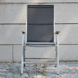 Lux folding armchair | Garden chairs | jankurtz