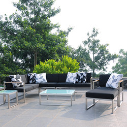 Lux Lounge seat-group | Sofás de jardín | jankurtz
