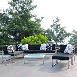 Lux Lounge seat-group | Divani da giardino | jankurtz
