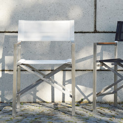 Lux director ́s chair | Garden chairs | jankurtz
