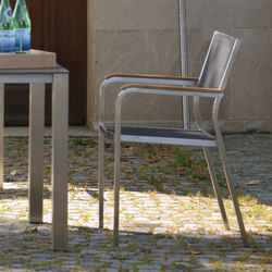 Lux stackable armchair | Restaurant chairs | jankurtz