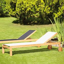 Luxury Sonoma sun bed | Tumbonas de jardín | jankurtz