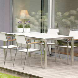 Luxury table | Tables à manger de jardin | jankurtz