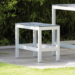 Quadrat bar bench | Garden benches | jankurtz