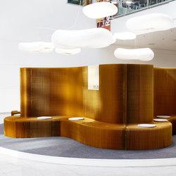benchwall | natural brown paper | Sedute lounge da lavoro | molo