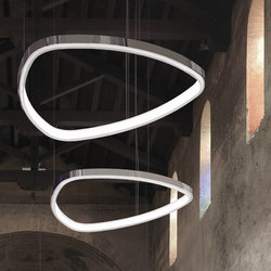 Soft Delta | Suspended lights | Sattler