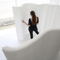 thinwall | white textile | Space dividers | molo