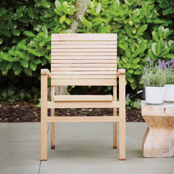 Sumatra stackabel armchair | Poltrone da giardino | jankurtz