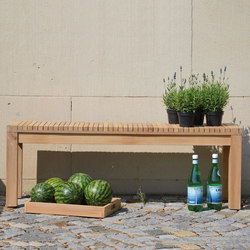 Sumatra bench | Garden benches | jankurtz